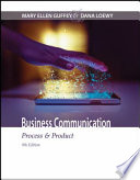 Business Communication Process Product