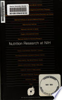 Nutrition Research At The Nih