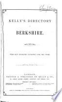 Kelly s Directory of Berkshire