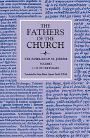 The Homilies of Saint Jerome, Volume 1 (1–59 on the Psalms) (The Fathers of the Church, Volume 48)