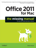 Office 2011 for Macintosh: The Missing Manual [Pdf/ePub] eBook