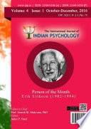 The International Journal Of Indian Psychology Volume 4 Issue 1 No 75