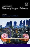 Handbook of Planning Support Science