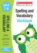Spelling and Vocabulary Workbook  Year 3