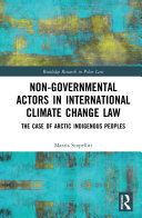 Non Governmental Actors in International Climate Change Law