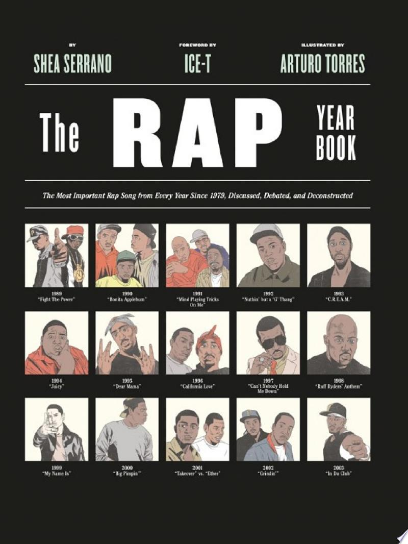 The Rap Year Book banner backdrop