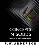 Concepts in Solids