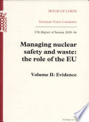 Managing Nuclear Safety and Waste