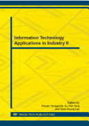 Information Technology Applications in Industry II