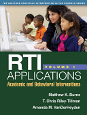 RTI Applications, Volume 1