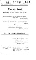 Records   Briefs New York State Appellate Division