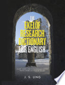 The Ekel  f Research Dictionary for English