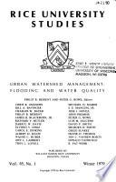 Urban Watershed Management