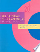 The Popular & the Canonical