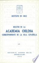 Boletin de la Academia Chilena Correspondiente de la Real Espanola - 62