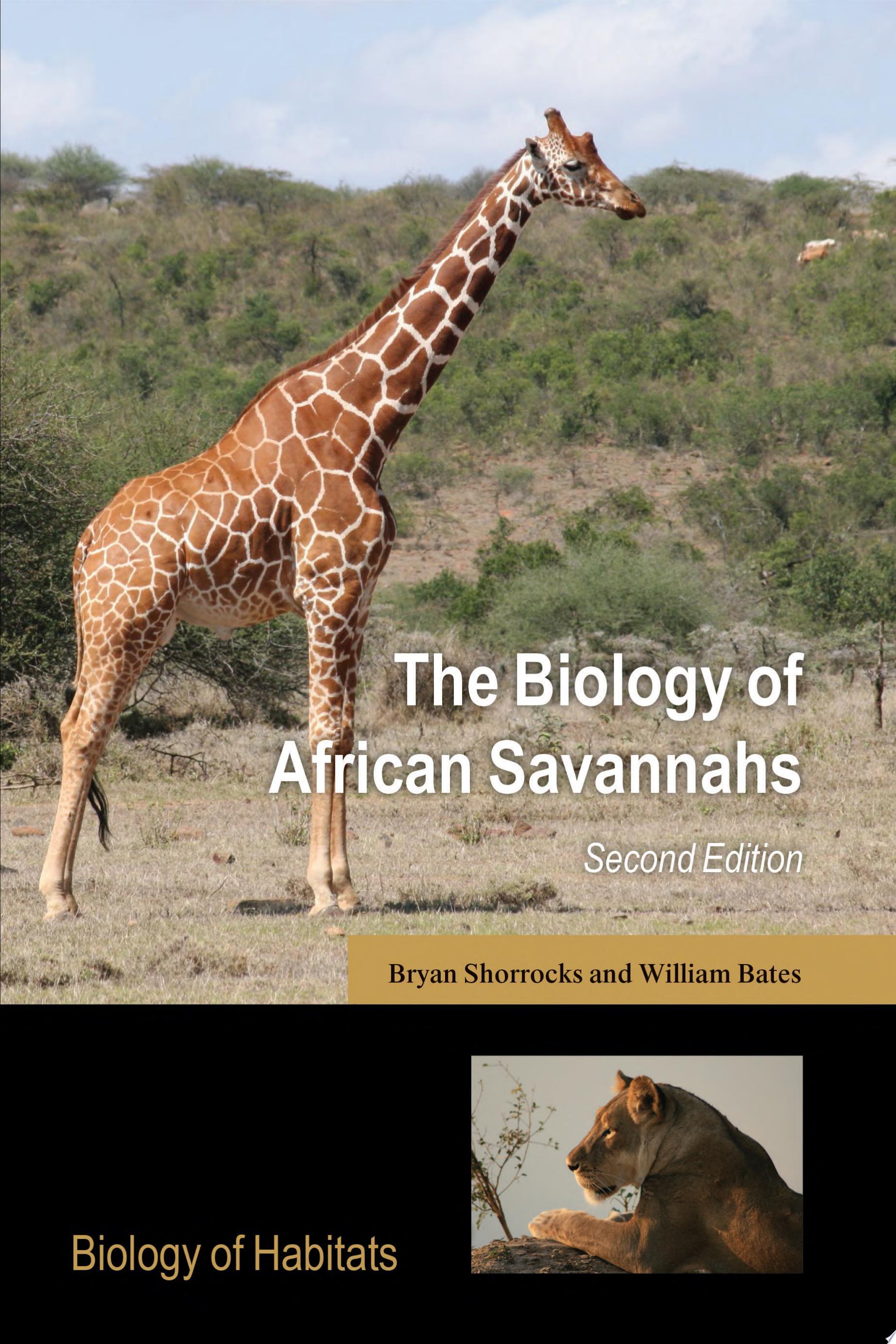 The Biology of African Savannahs