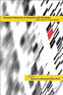 Research Advances in Genetics and Genomics Book