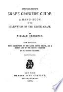Chorlton s Grape Growers  Guide Book