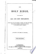 The Holy Bible  Etc Book