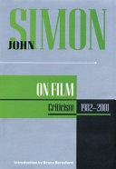Pdf John Simon on Film
