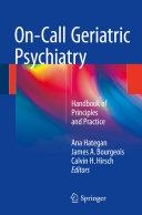 Pdf On-Call Geriatric Psychiatry