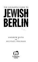 The Goldapple Guide to Jewish Berlin