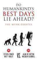Do Humankind's Best Days Lie Ahead? Pdf/ePub eBook