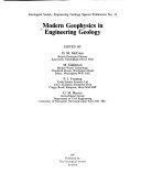 Modern Geophysics in Engineering Geology