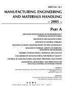 Manufacturing Engineering and Materials Handling--2005