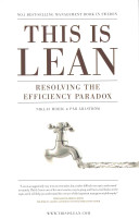 This is lean : resolving the efficiency paradox