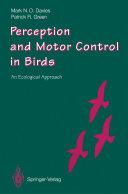 Perception and Motor Control in Birds [Pdf/ePub] eBook