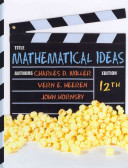 Mathematical Ideas [With Student's Solutions Manual and Access Code]