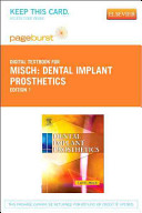 Dental Implant Prosthetics Access Card Book