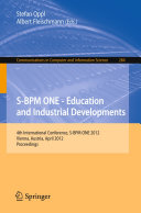 S-BPM ONE - Education and Industrial Developments