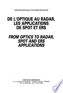 De l'optique au radar, les applications de Spot et Ers