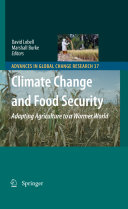 Pdf Climate Change and Food Security Telecharger