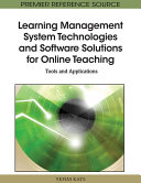 Learning Management System Technologies and Software Solutions for Online Teaching: Tools and Applications Pdf/ePub eBook