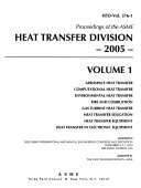Proceedings of the ASME Heat Transfer Division