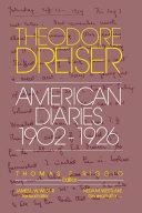 The American Diaries  1902 1926