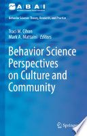 Behavior Science Perspectives on Culture and Community