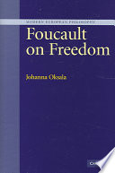 Foucault on Freedom Online Book