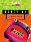 Math Advantage  Grade 5 Practice Workbook
