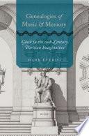 Genealogies of Music and Memory Book