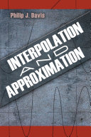Interpolation and Approximation