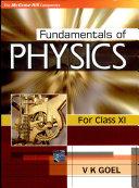 Fundamentals Of Physics Xi
