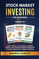 STOCK MARKET INVESTING FOR BEGINNERS   3 Books in 1