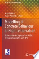 Modelling of Concrete Behaviour at High Temperature