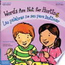 Words Are Not for Hurting / Las palabras no son para lastimar