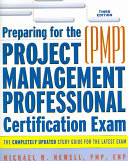 Preparing for the Project Management Professional (PMP) ...