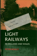 Light Railways in England and Wales